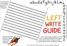 Left-Write Mat